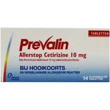 Prevalin Allerstop Inhoud: 14 tabletten