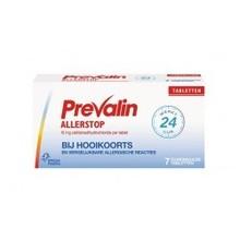 Prevalin Allerstop 10 mg Inhoud:7 tabletten