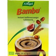A. Vogel Bambu koffie sachets Inhoud:25 x 2 gram