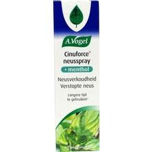 A. Vogel Cinuforce mentholspray Inhoud:20 ml