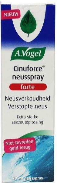 A. Vogel Cinuforce neusspray forte Inhoud:20 ml