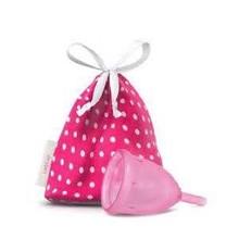 Ladycup Menstruatie cup pink maat S