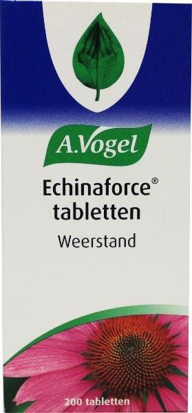 A. Vogel Echinaforce Inhoud: 200 tabletten
