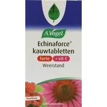 A. Vogel Echinaforce & vitamine C framboos forte Inhoud:60 kauwtabletten