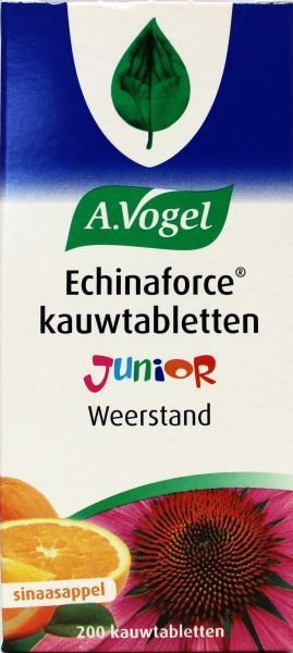 A. Vogel Echinaforce junior Inhoud: 200 kauwtabletten