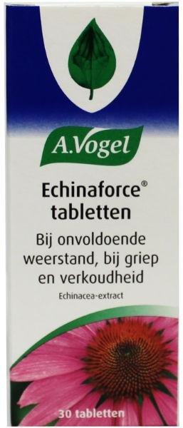 A. Vogel Echinaforce TKG griep Inhoud:30 tabletten