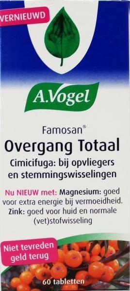 A. Vogel Famosan overgang totaal Inhoud:60 tabletten