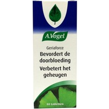 A. Vogel Geriaforce Inhoud:	80 tabletten