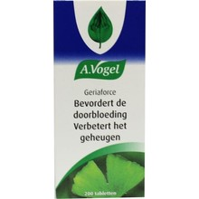 A. Vogel Geriaforce Inhoud:	200 tabletten