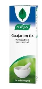 A. Vogel Guajacum D4 Inhoud: 20 ml