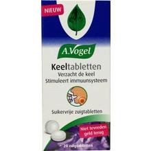 A. Vogel Keeltabletten Inhoud:20 tabletten