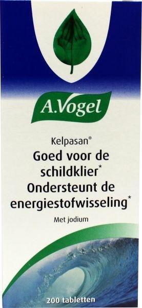 A. Vogel Kelpasan stofwisseling Inhoud: 200 tabletten