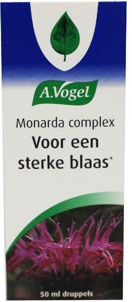 A. Vogel Monarda complex Inhoud:50 ml