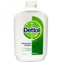Dettol Dettol  Brown liquid ontsmetting  500ml