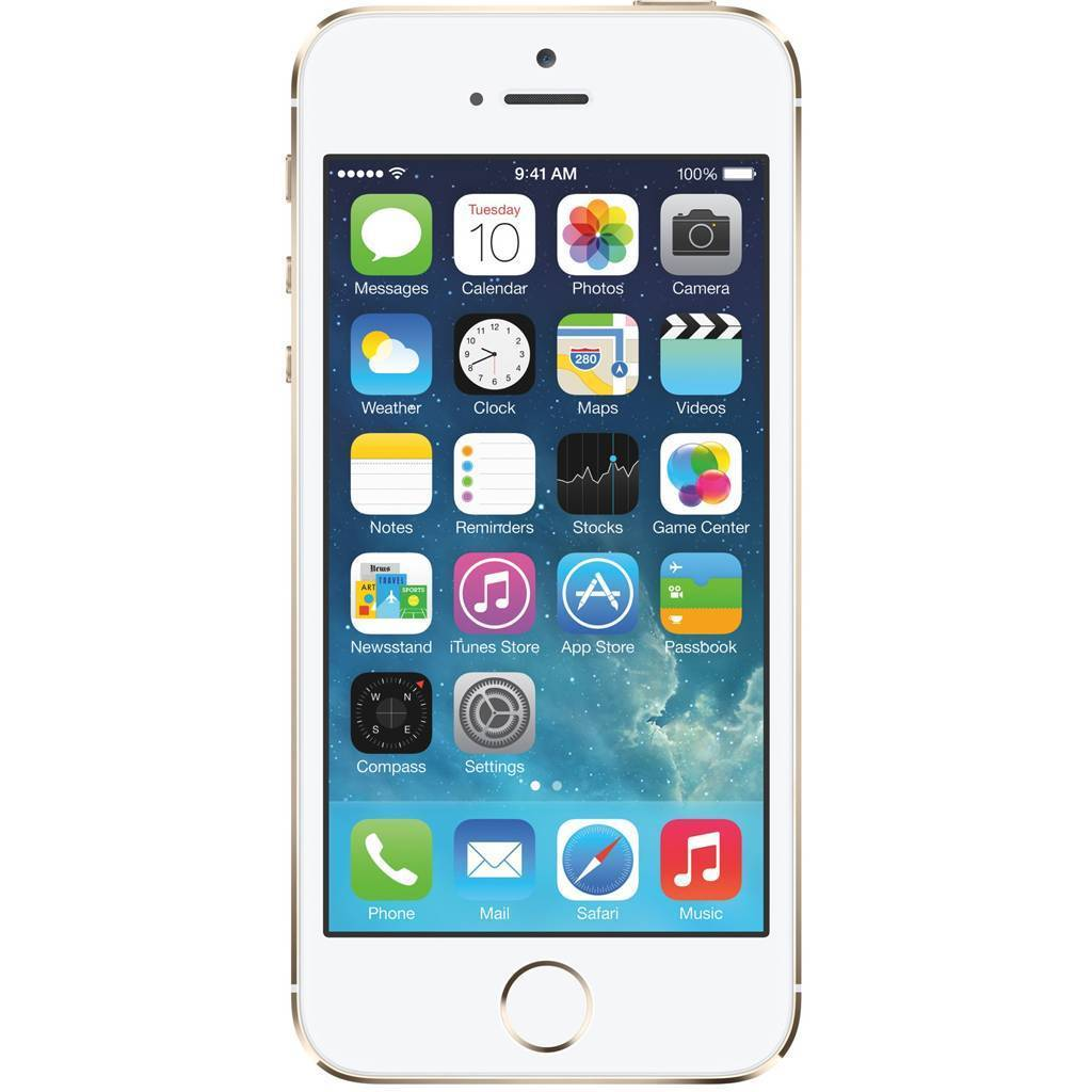 Afbeelding van iPhone 5S 64GB Goud