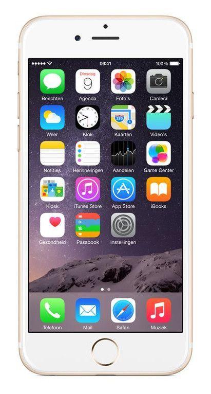 Afbeelding van iPhone 6 Plus 128GB Goud