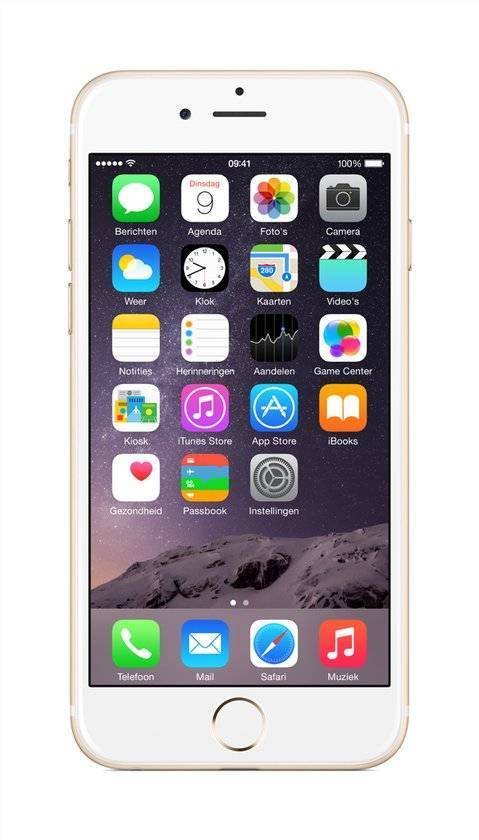 Afbeelding van iPhone 6 128GB Goud