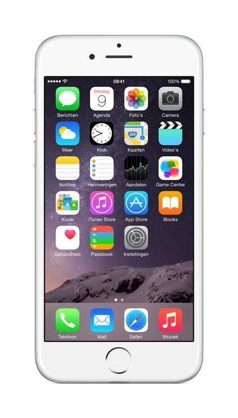 Afbeelding van iPhone 6 128GB Zilver