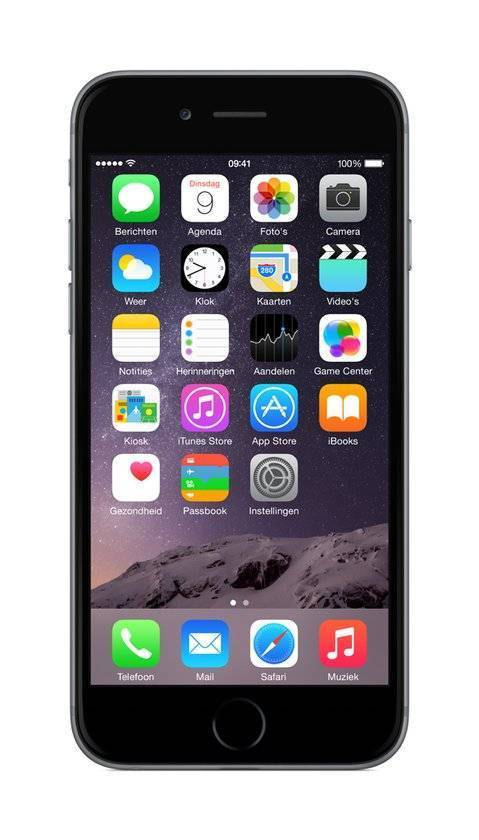 Afbeelding van iPhone 6 128GB Spacegrijs