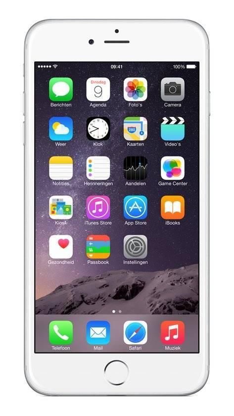 Afbeelding van iPhone 6 Plus 128GB Zilver