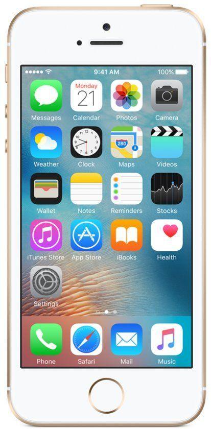 IPhone SE 16GB Goud voor €317