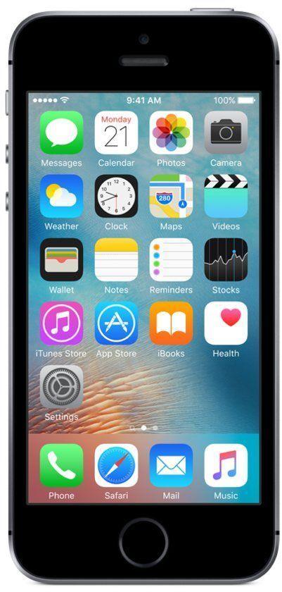 iPhone SE 16GB Zwart