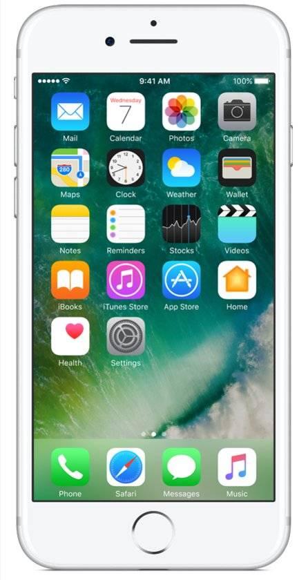 iPhone 7 256GB Zilver