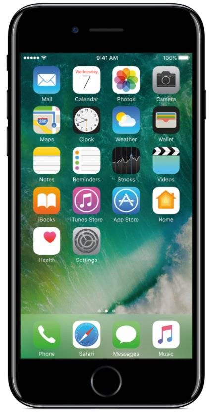 iPhone 7 256GB Gitzwart