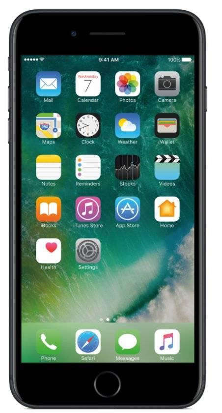 iPhone 7 Plus 256GB Zwart