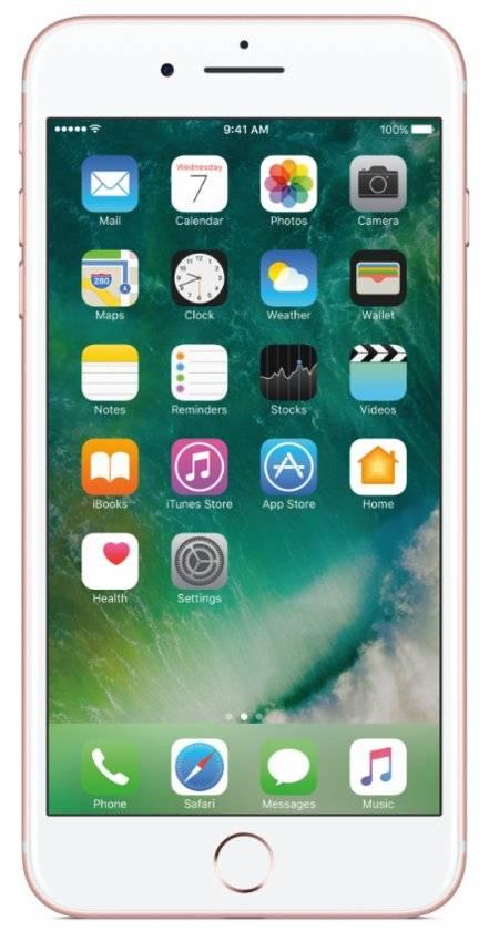 iPhone 7 Plus 256GB Roségoud