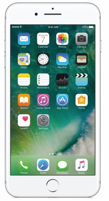 iPhone 7 Plus 256GB Zilver