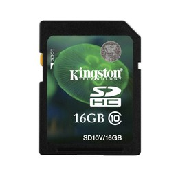 Kingston 16GB class 10 SD kaart