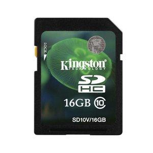Kingston 16GB class 10 SD kaart