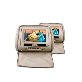 Xtrons HD705 dvd hoofdsteunen set