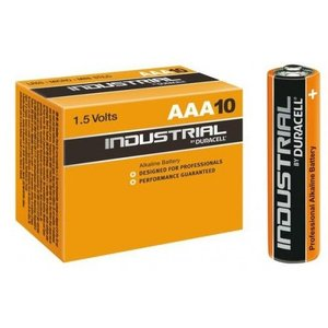 10x AAA Industrial Duracell