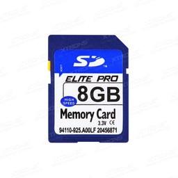 Navigatie Europa met 8GB SD kaart