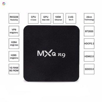 MXQ R9 4K android mediaspeler
