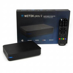 Wetek Play 2 - 4K TV Box with tuner