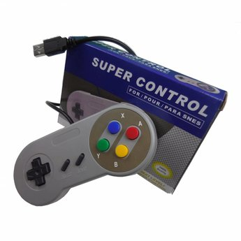 Retro USB Controller type SNES