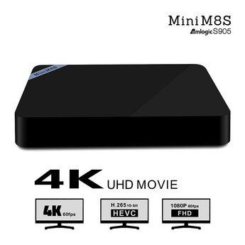 Mini M8S II Android 6.0 media speler
