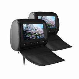 Xtrons HD905 hoofdsteun dvd speler set
