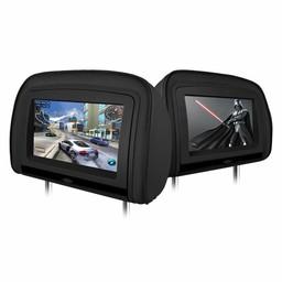 Xtrons HD909 hoofdsteun dvd speler - Zwart