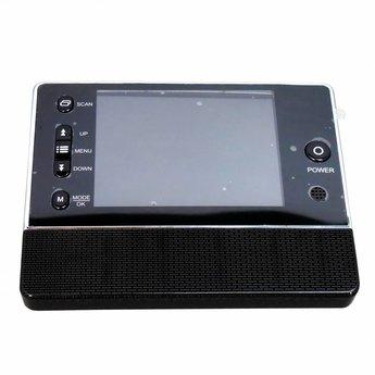 "Digital Doorspy with Doorbell and 3,5"" LCD Display Black"