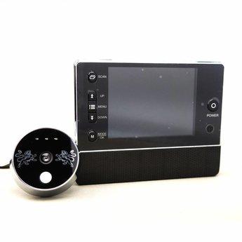 """Digitale Deurspion met Deurbel en 3,5"""" LCD Beeldscherm Zwart"""