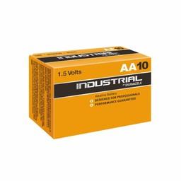 10x AA Industrial Duracell Batterijen