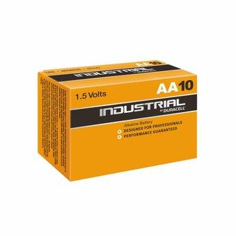 Duracell Industrial AA Batterijen - Doos van 10 stuks
