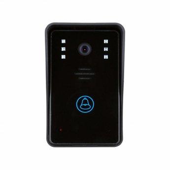 WiFi Deurbel met Camera Zwart incl. Smartphone App