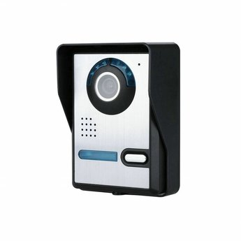 Wifi Doorbell with Camera Aluminium incl. Smartphone App