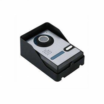 Wifi Deurbel met Camera Aluminium incl. Smartphone App