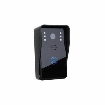 """Deurbel met Camera 7"""" LCD Beeldscherm Zwart"""